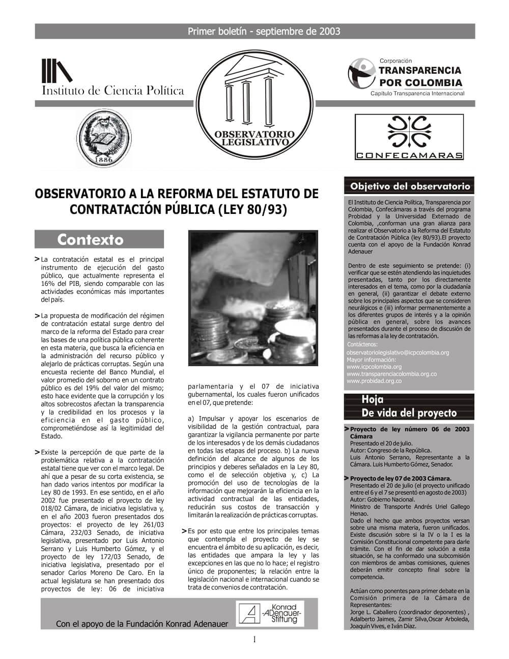 2003.09.01-Boletín-1-Reforma-del-Estatuto-de-contratación-Pública-1